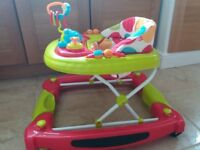 Red Kite Adjustable Baby Walker.