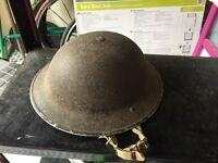 World war 2 soldiers helmet