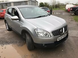 2007 Nissan Qashqai Acenta 1.5 Dci One Private Owner New Mot Full History Bluetooth Glass Roof