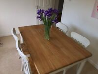 John Lewis Driftwood Table and Chairs