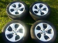 16 inch 5x120 genuine BMW alloys wheels. Trafic / Vivaro
