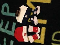 Converse and ny hat and socks