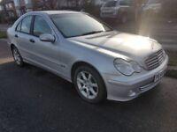 Cream Leather* Mercedes C Class 2.2 Diesel Automatic C200 Saloon C220 69K* Not E220 320 520 2.1 2L