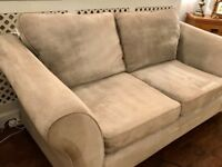 Next Silver Grey 3 seater sofa