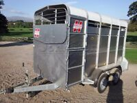 10'x5' hudson cattle trailer
