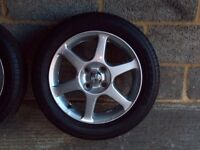 Yaris t sport alloys