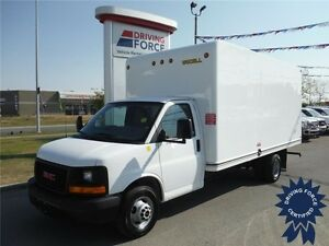 2015 GMC Savana 16ft Cube Van - UniCel Body - CVIP Certified