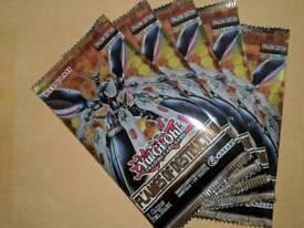5 yugioh flames of destruction booster packs
