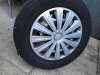 Vivaro traffic wheels