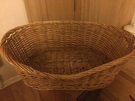 Wicker Cat/Small Pet Basket