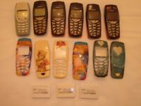6 Nokia mobile phones.