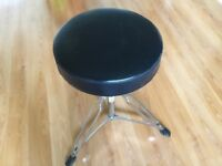 Drum throne stool
