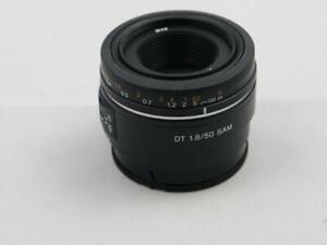 SONY 50mm F1.8 DT SAM A mount APS-C cameras