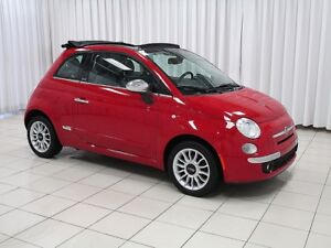 2012 Fiat 500 500c 2DR CONVERTIBLE SOFT TOP COUPE 4PASS