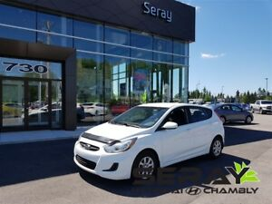2014 Hyundai Accent GL gr.elect+air clim+sieges chauffants