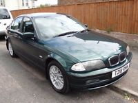 1999/T BMW 328I SE SALOON - FULL BLACK LEATHER - SERVICE HISTORY - DRIVES WELL!