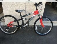 """Dawes bicycle. 24"""" frame. Suitable for 6-13 year old"""