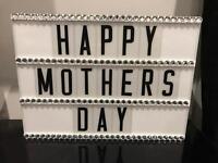 Diamanté Mothers Day Light Boxes