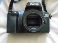 canon EOS 1000F camera sold as seen no lens no bag,in fairly good condition £12.00 ovno