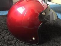 Helmet Vespa moped motorbike