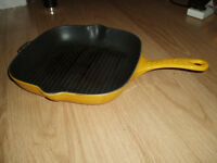 Cast Iron Griddle Pan Invicta France made