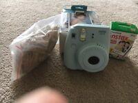 Instax mini 8 camera with 2 films