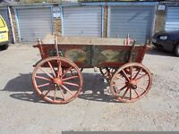 ROMANY GYPSY HORSE DRAWN HIGHLY DECORATED CART
