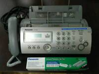 Penasonic KX FP205 Fax Machine And Ink Film