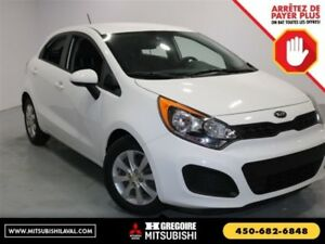 2014 Kia Rio LX Sieges-Chauf Bluetooth A/C cruise MP3/USb