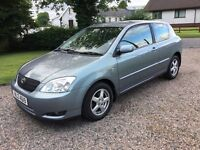 2004 TOYOTA COROLLA 2.0 T3 D4D -- SERVICE HISTORY -- HIGH MPG --