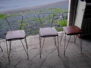 4 ANTIQUE BAR CHAIRS St. John's Newfoundland image 2
