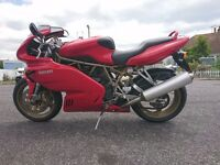 Ducati 900 Super sport SS Red 1999, Just had new belts and service. Fantastic Condition!