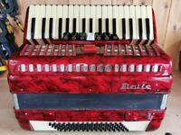 Baile, 80 Bass, REDUCED IN PRICE, 3 Voice (LMM), Piano accordion. Lessons Available.