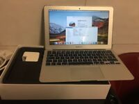 Macbook Air 11 Intel Core i5 2013 1.3GHz 4GB RAM 128GB SSD FinalCut Microsoft Office Box Charger
