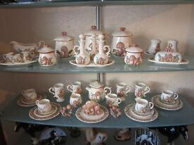 Unusual Large Collection of Dinner/Tea Crockery