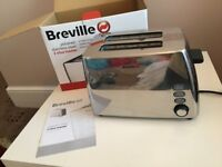 Breville Stainless Steel 2 Slice Toaster – Boxed NEW