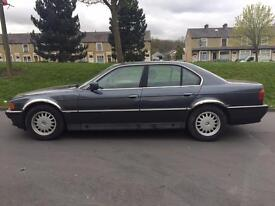 1996 BMW 735I 5 Door Saloon Automatic Full Black Leather In Very Good Condition Superb Drive PX Poss