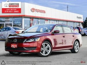 2015 Volkswagen Passat 1.8 TSI Trendline No Accidents