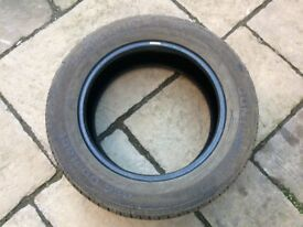 Nearly new part worn tyre - 255/55/19 Continental 4x4 Contact