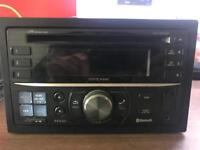 Alpine CDE W235BT - double din bluetooth, usb and aux port
