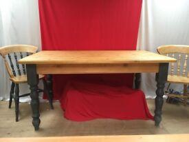 Pine Farmhouse Table