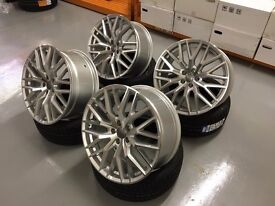 "20"" R8 PLUS STYLED ALLOYS WHEELS S5 S4 S3 S6 RS4 RS5 RS6 RS7 S7 A5 A6 A7 A8 S8 TIGUAN Q5 Q3"