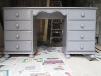Dressing Table/Desk + matching Chest of Drawers