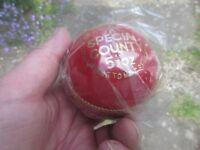 Cricket ball - REAL. UNUSED. Mens/women Grade A.