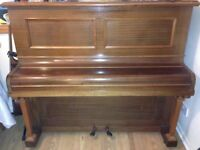 recently tuned working upright piano buyer collects