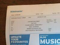 2 Coronation Sreet on Tour tickets - Glasgow SECC