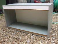 "Vivarium, without glass or accessories. 32"" x 17"" x 12"""
