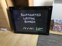 x3 Illuminated Writing Boards