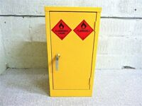 Hazardous Flammable Commercial Grade Industrial Cabinet for COSHH. Excellent Condition With Key