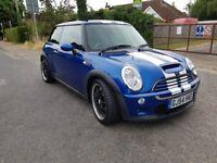 2004 Mini Cooper S Blue